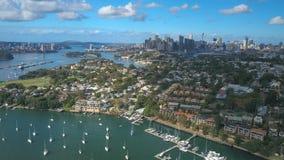 4k hyperlapse powietrzny wideo Sydney schronienie zbiory