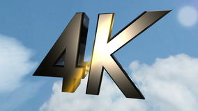 4K icon back clouds stock footage