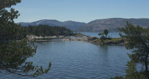 4K, Idyllic Sognefjord Bay, Norway stock video footage
