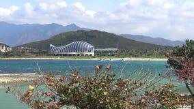 4k, il museo nazionale di Marine Biology ed acquario, Kenting, Taiwan video d archivio