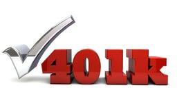 401K stock illustration