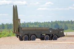 9K720 Iskander (камень SS-26) Стоковые Изображения RF