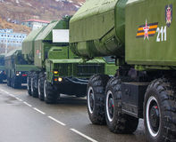 The 9K720 Iskander NATO reporting name SS-26 Stone is a mobile Stock Photography