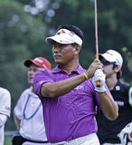 K.J. Choi at the 2011 US Open Royalty Free Stock Photography