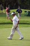 K J Choi Strides off the Green - NGC2008 Stock Photos