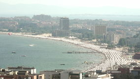 K.k. Sunny Beach, Bulgaria stock footage