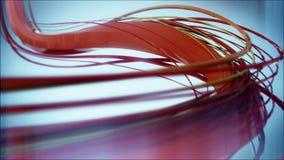 8k 4k UHD czerwone linie zwalniają płodozmiennego tła tło ilustracji
