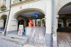 K Kiosk in Bern Royalty Free Stock Photo