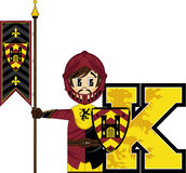 K is for Knight Royalty Free Stock Image