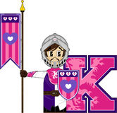 K is for Knight Stock Photography