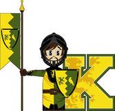 K is for Knight Royalty Free Stock Photo
