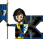 K is for Knight Royalty Free Stock Images