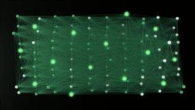 4k kunstmatig neuraal netwerk vector illustratie