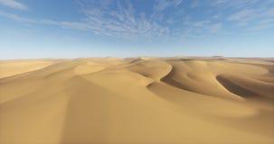 4k lata nad pustyni & piaska diunami zdjęcie wideo