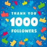 1k le agradecen los seguidores