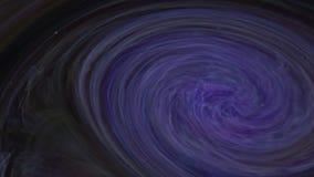 4k lengte Abstracte psychedelische de inktverspreiding van de melkweg kleurrijke verf stock footage