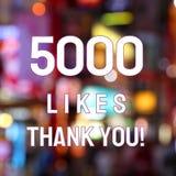 5k likes