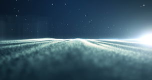 4K Loopable Energy fluctuation in a deep space. Stock Images