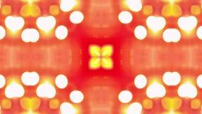 4K loopingu kalejdoskopu Kolorowa sekwencja Abstrakcjonistyczny ruch grafika tło royalty ilustracja