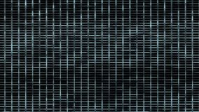 4k metal mesh square grid network background,Big data&cloud storage,prison cage. 4k Abstract metal mesh squares grid chips network background,big data & cloud stock video