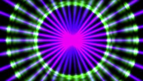 4k microwave halo pattern,neon lights science future radiation energy scan data. 4k Abstract microwave halo pattern background,disco backdrop,signaling stock video footage