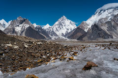 K2 mountain peak, second gifhest peak in the world, Karakorum, P Stock Photo