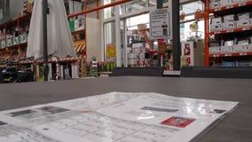 4K Niemcy, miasto Heidelberg, 18 08 2016 rok narzędzia sklepu Bauhaus zbiory wideo