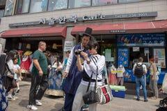 K?nigliches Kultur-Festival, Seoul, Korea lizenzfreie stockbilder