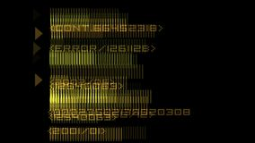 4k numbers scrolling across the screen,finance digital tech data background. 4k numbers scrolling across the screen,finance digital tech data background stock illustration