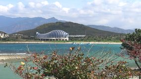 4k, o Museu Nacional de Marine Biology e aquário, Kenting, Taiwan vídeos de arquivo