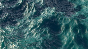 4k ocean waves surface fly over, seamless looped, background