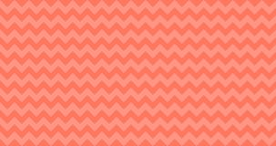 4K Ombre Chevron Horizontally Seamless Vector Pattern Tile in Living Coral Color. Zigzag Stripes. vector illustration background vector illustration