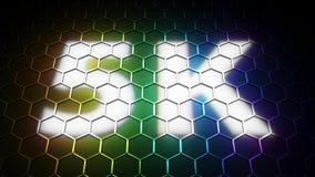 5K pictogram UHDTV. Computer generated image (3d render Vector Illustration