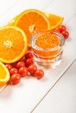 kąpielowa owoc kopalin sól Obrazy Stock