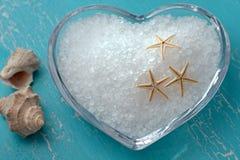 kąpielowej soli rozgwiazdy fotografia royalty free