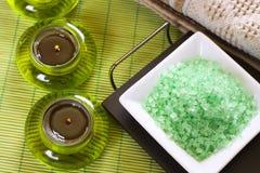 kąpielowej soli zdrój zdjęcie royalty free