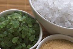 kąpielowej soli zdroju wellness Obraz Royalty Free