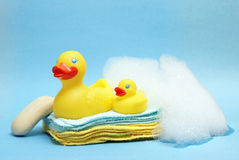 kąpielowy czas Zdjęcie Royalty Free