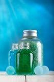 kąpielowy istotny kopalin oleju soli zdrój Obraz Royalty Free