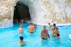 Kąpielowy kompleks, Miskolctapolca Obrazy Royalty Free