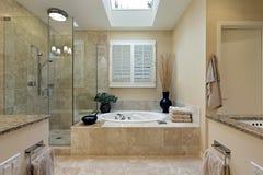 kąpielowy luksusu mistrza skylight Zdjęcia Royalty Free