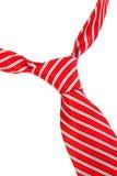 Kępka czerwony krawat Obraz Stock