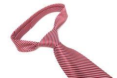 Kępka czerwony krawat Zdjęcia Stock