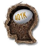 401k Plan Royalty Free Stock Photo