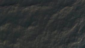 4k Powietrznego materiału filmowego falista woda zdjęcie wideo