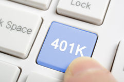 401K stock photography