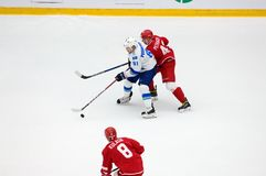 K Pushkaryov 81 vs I Petrakov 43 Arkivbilder