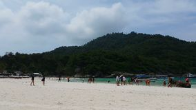 4K Racha Island Thailand. Tropical Beach Racha Island stock footage