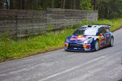 K.Raikkonen/K.Lindstrom. 2010 Rally Bulgaria - WRC K.Raikkonen Royalty Free Stock Photography