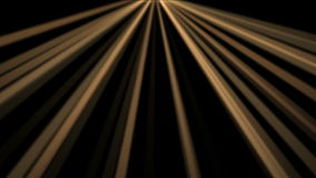 4k Ray Stage Lighting background,radiation laser energy,tunnel passage line. 4k Abstract gold rays Stage Lighting hope light background,flare star sunlight stock footage